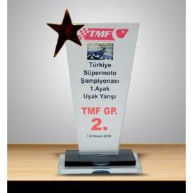 VİP KP 202 Ödül Kristal Plaket